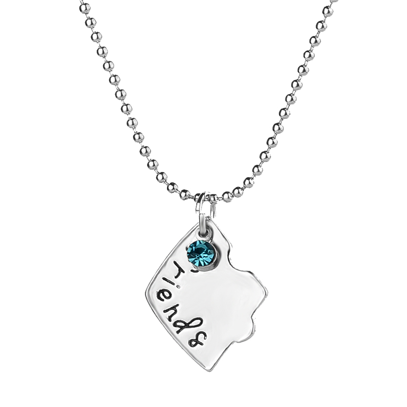 Best Firends Forever Statement BFF Necklaces for 3 Heart Pendant ...