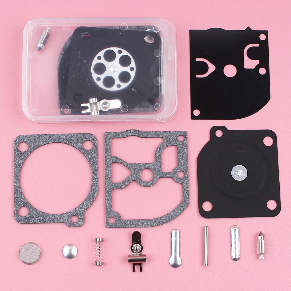 2pcs/lot Carburetor Repair Rebuild Diaphragm Kit For Husqvarna 338XPT 334T Zama RB 137 C1Q-CL33 Chainsaw Replace Spare Part