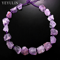 New Arrival Original Irregular Natural Stone Beads Exaggerated Big Stone Jewelry For DIY Making 1 Sets
