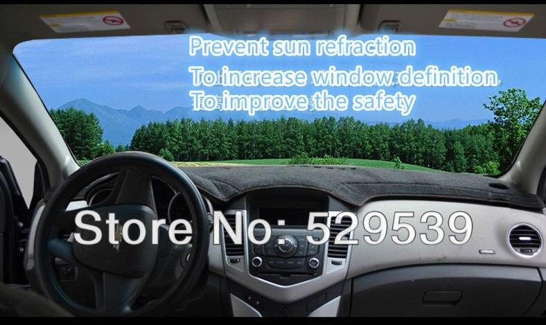 Pokrowce na deskę rozdzielczą Podkładki na platformę nissan TIIDA - Akcesoria do wnętrza samochodu - Zdjęcie 5