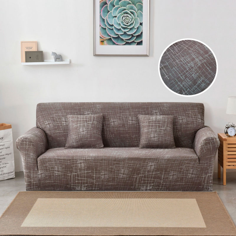 Sectional Sofa Cover Spandex Wrap All-inclusive Slip-resistant Couch Cover For Living Room Furniture Slipcovers cogines para