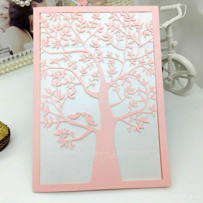 Online Get Cheap Wedding Invitations Tree Aliexpresscom
