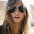 Moda Unissex Óculos De Aviador Espelho Óculos De Sol Das Mulheres Designer De Marca Dos Homens Das Mulheres Óculos de Sol Para As Mulheres Óculos de Condução Óculos