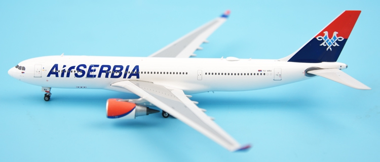 New product Phoenix 1: 400 11348 Serbian Airways A330-200 YU-ARA Alloy aircraft model Collection model Holiday gifts fine phoenix 1 400 11198 thai airways b787 8 hs tqb alloy aircraft model collection model holiday gifts