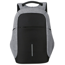 Универсальный бизнес зарядка через USB для мужчин 15 дюймов ноутбука Рюкзаки для подростка мужской Anti Theft отдыха и путешествий рюкзак