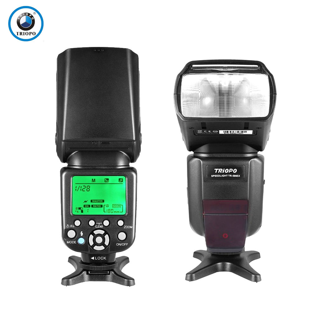 цена на Triopo TR-586EX Wireless TTL Flash Speedlite Speedlight For Canon 6d 650d 60d Camera Vs YONGNUO YN-565EX II YN565EX II YN-560 IV