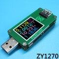 QC2.0 QC3.0 USB Power Monitor de corrente-tensão coulõmetro capacidade tabela Voltímetro amperímetro Tester medidor de Alta Resolução