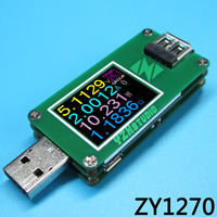 QC2 0 QC3 0 USB Power Monitor Current Voltage Coulometer Capacity Table Voltmeter Ammeter Tester Meter