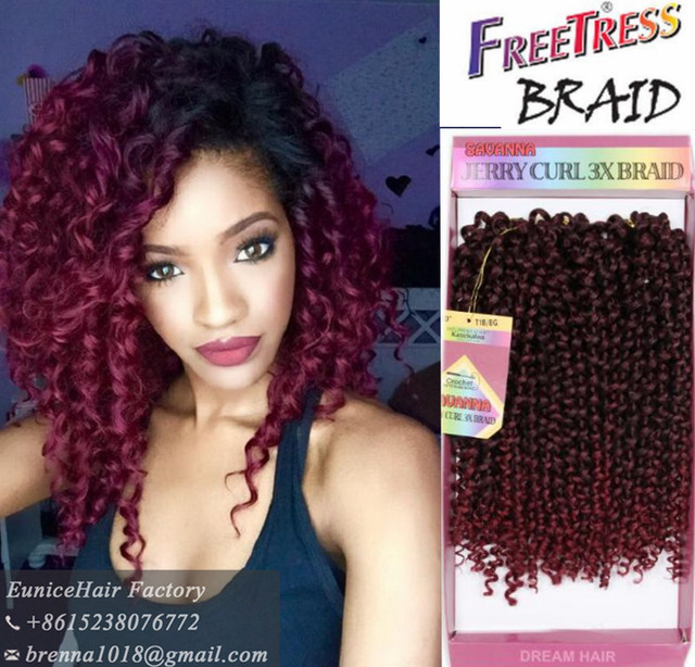 Freetress Premium Synthetic Hair Braid Loose Deep Bulk Hair Bohemian