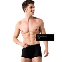 2017 4 STKS/PARTIJ Cool Ijs Zijde mannen Boxershorts Super Ademend Mesh Mannen Ondergoed Mode Sexy Onderbroek W1