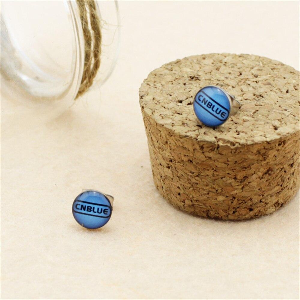Wholesale k-pop C.N.BLUE CNBLUE Men or Women Stud earrings FR508
