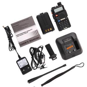 Image 5 - BaoFeng walkie talkie UV 5R zwei weg cb radio upgrade version baofeng uv5r 128CH 5W VHF UHF 136 174 mhz & 400 520Mhz