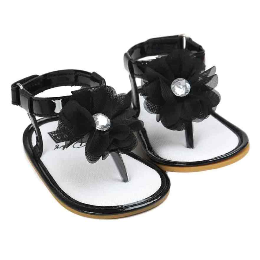 baby girl sandals summer 2018 Baby Flower Pearl Sandals Toddler Princess First Walkers Girls Kid Shoes    uk m21