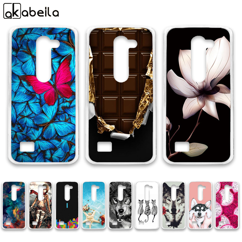 AKABEILA Soft TPU Phone <font><b>Cases</b></font> For <font><b>LG</b></font> <font><b>LEON</b></font> Tribute 2 <font><b>4G</b></font> <font><b>LTE</b></font> C40 H340N Y50 H320 C50 H324 H340 LS665 Covers Nutella Bags Bumper image