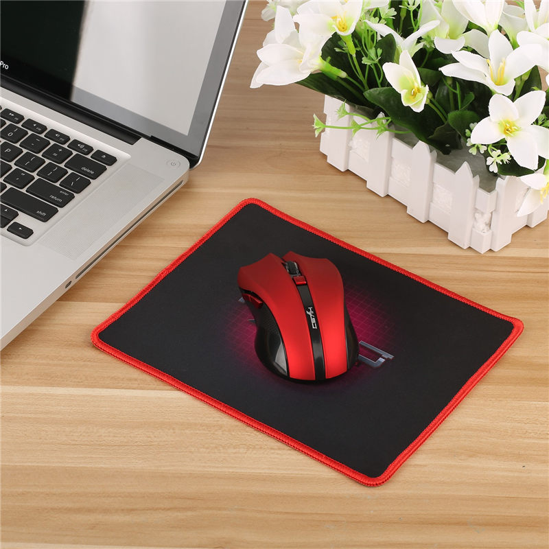 HXSJ Portable Gaming Mouse Pad Locking Edge Mousepad Rubber Mouse Mat  Square Keyboard Mat Gamer Table Mat For Dota 180x220mm In Mouse Pads From  Computer ...