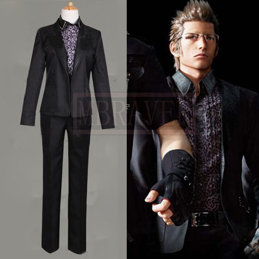 New Arrival High Quality Custom Made Ignis Stupeo Scientia In Final Fantasy XV Cosplay Costume