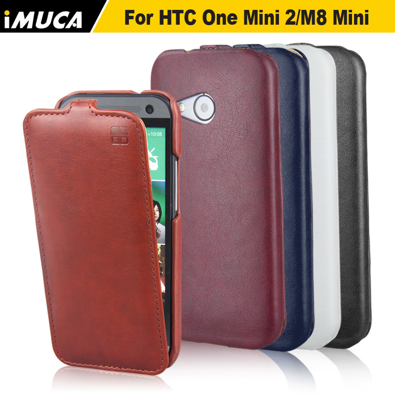 for htc one mini 2 cover luxury leather flip case cover. Black Bedroom Furniture Sets. Home Design Ideas