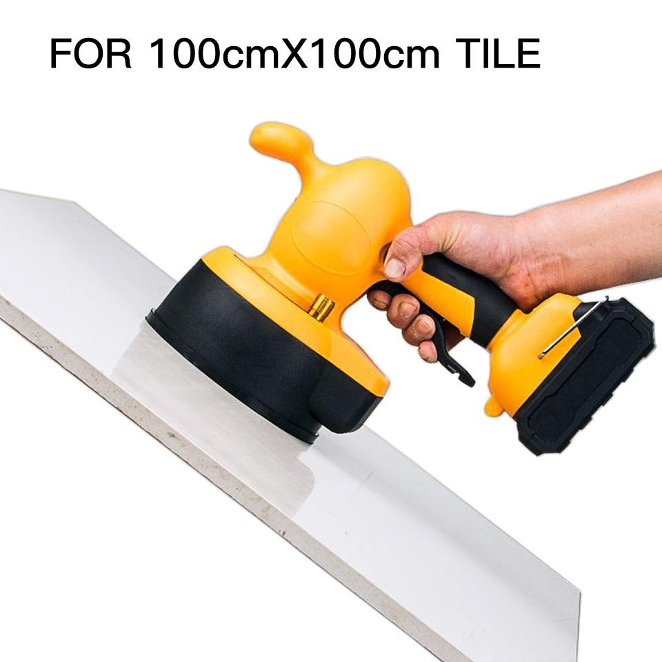 Piso portátil vibrador telha ferramenta 21v nivelador de pisos e telhas que colocam ferramenta para azulejista telha nivelamento ferramentas carrelage