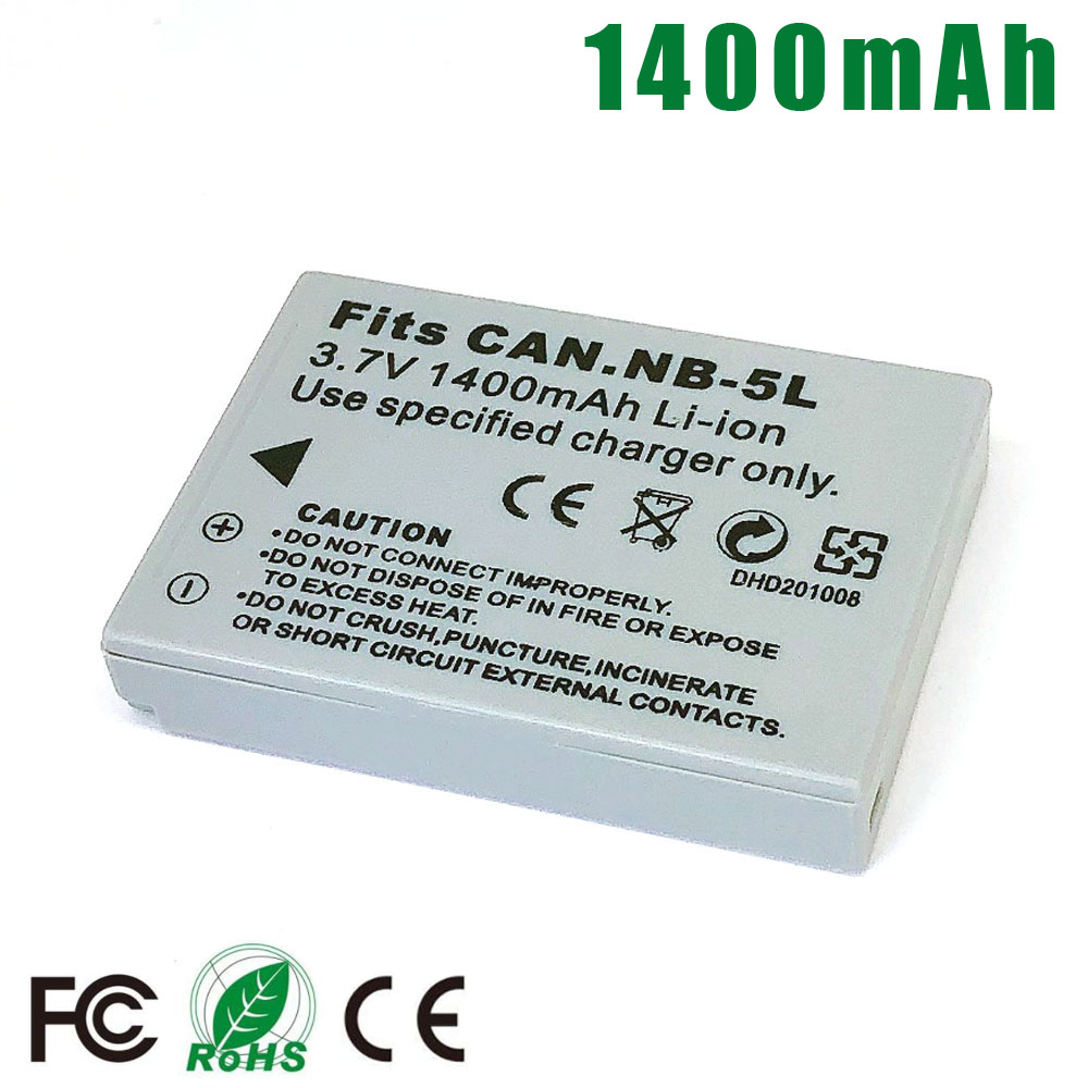 NB-5L NB5L Battery For Canon SX200is SX220HS SX230HS S100 S110 Ti Z1 SX230 HS SX210 SX200 SD790 SD900 SD950 SD970 SD800 SD890 IS