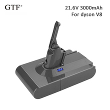 3000mah/3500mah 21.6V Rechargeable Tool Battery for Dyson v8 Replacement Li-ion For V8 Absolute 214730-01 fluffy
