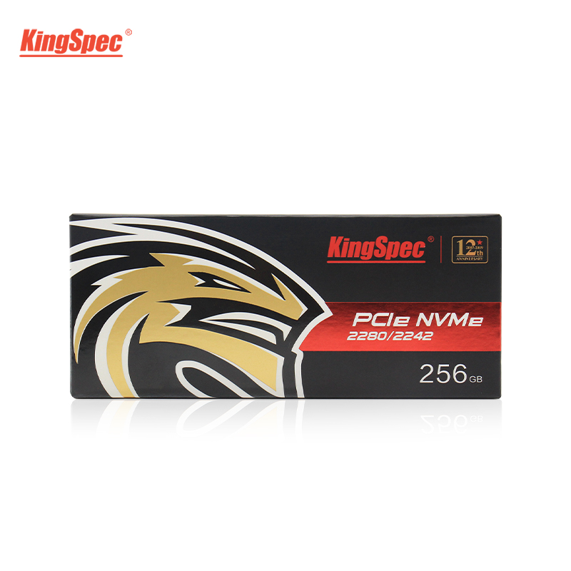 KingSpec 22x42mm PCI-e Signal Gen3.0x2 NVMe Internal M.2 SSD 128GB Solid Hard Disk HD SSD M2 PCIe Hard Drive for Laptop PC