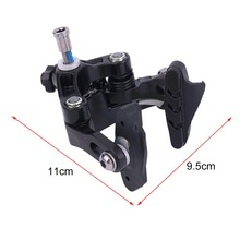 Double Axis High Compatibility Cycling Front And Rear Braking C Type Brake Arms Brake Clamp For Bicycle Bikes Black