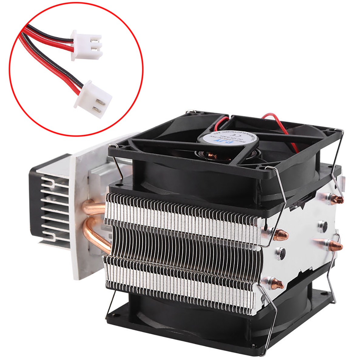 Practical 12V 6A Thermoelectric Peltier Semiconductor Cooler Refrigeration Cooling System DIY Kit Fan 175*100*98 mm Mayitr practical 12v 6a thermoelectric peltier semiconductor cooler refrigeration cooling system diy kit fan 175 100 98 mm mayitr
