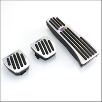 Car Styling High Quality Aluminium Alloy Rest Gas Pedal Brake Pedal For BMW X1 M3 E39