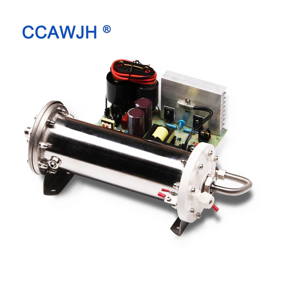 Super! Générateur d'ozone de Tube d'émail de 30 G/H pour la stérilisation de l'eau et de l'air d'industrie électrodes internes et externes refroidies à l'eau + FS-in Purificateurs d'air from Appareils ménagers    1