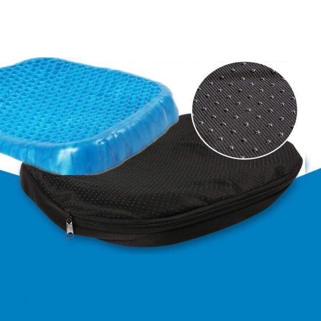 Hemorrhoid Cushion Pillow Gel Seat Egg Donut Treatment Wheelchair Seat Cushion