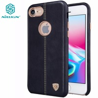 Nillkin Englon Leather Cover For Apple Iphone 8 Luxury Leather Case Vintage Back Cover For Iphone