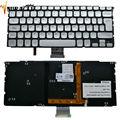 Nova espanha original com luz de fundo do teclado para dell xps 14z (l412z) 15z l511z prata la/sp teclado do laptop pk130jn1a12