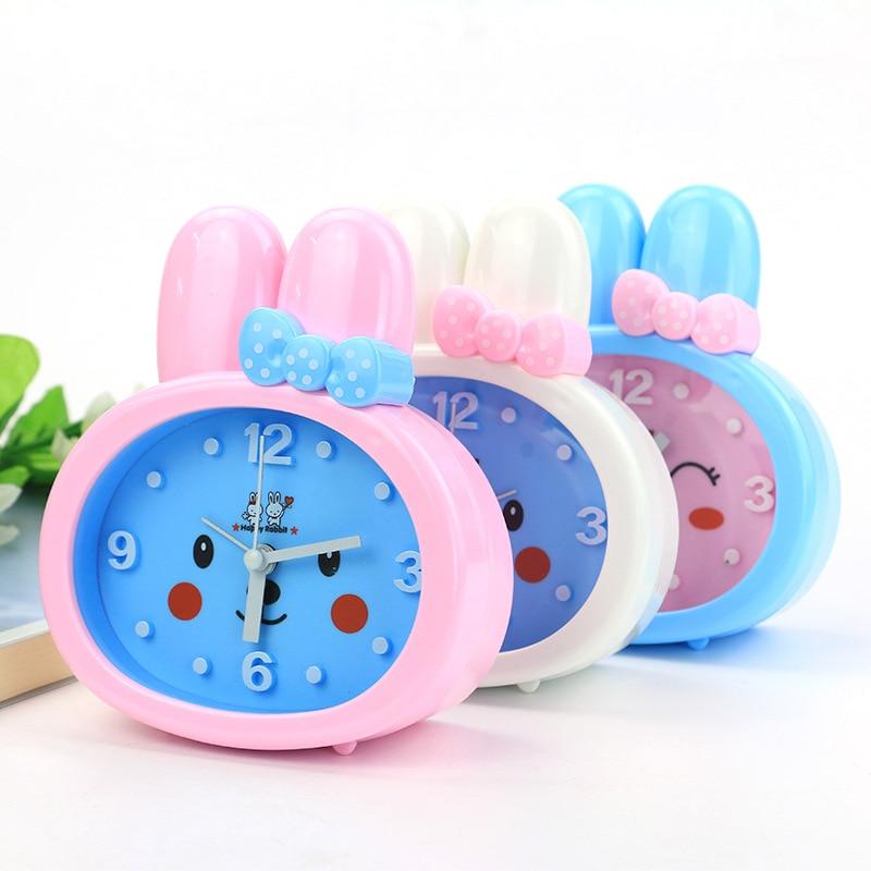 2017 New Arrival Cute Rabbit Alarm Clock Children Bedroom ...