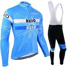 BXIO/осенняя одежда для велоспорта с длинными рукавами, Джерси для велоспорта синего цвета, профессиональная велосипедная трикотажная одежда, зимняя теплая велосипедная одежда, спортивная одежда на открытом воздухе 113