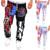 Marca de lujo de Los Pantalones Más Tamaño Joggers Hiphop Carta de América de La Bandera Nacional de Impresión Pantalones casual Pantalones Largos pantalones de chándal Streetwear