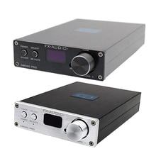 FX-Audio D802C PRO беспроводной Bluetooth 4,2 чистый цифровой аудио усилитель Поддержка APTX nfc usb/AUX/оптический/коаксиальный 24Bit 192 кГц