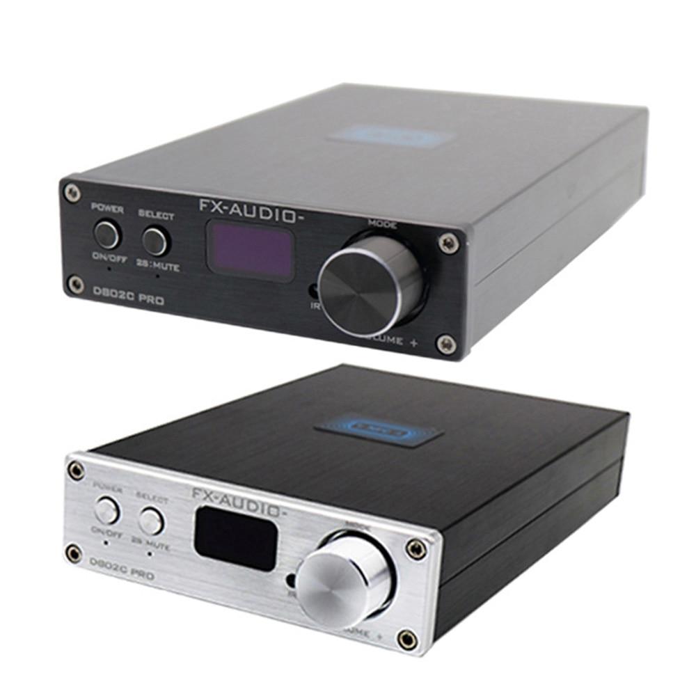 FX-Audio D802C PRO Wireless Bluetooth 4.2 Pure Digital Audio Amplifier Support APTX NFC USB/AUX/Optical/Coaxial 24Bit 192Khz