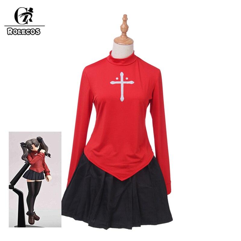 Fate Stay Night COS Rin Tohsaka Cosplay Costume FF.78