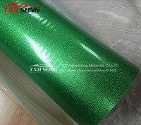 Зеленый глянцевый Блестящий Алмазный виниловый автомобиля наклейку с воздуха Бесплатные каналы, Блеск Перл пленка для автомобиля обертыва