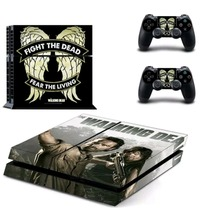 the last of us PS4 Skin Sticker For Sony Playstation 4 PS4 Console protection film and Cover Decals Of 2 Controller