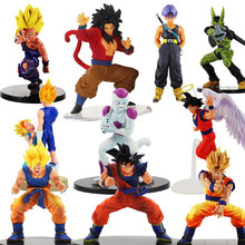 Dragon Ball Z Figura Son Gohan Goku Vegeta Trunks Frieza Celular Dragonball Figuras de Ação Toy Collectible 11-21 Lunchi cm(China)