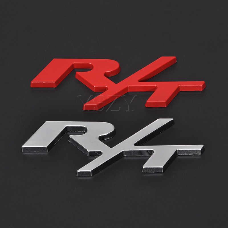 ملصقات سيارة معدنية شعار شارات ل دودج R/T RT شعار تشالنجر شاحن عيار قافلة رحلة رام كرايسلر السيارات التصميم