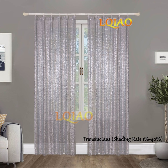 2pcs Sequin Backdrop Curtain 3x8ft, Shimmer Silver Sequin Fabric Curtain  Wedding Photography,Sparkle