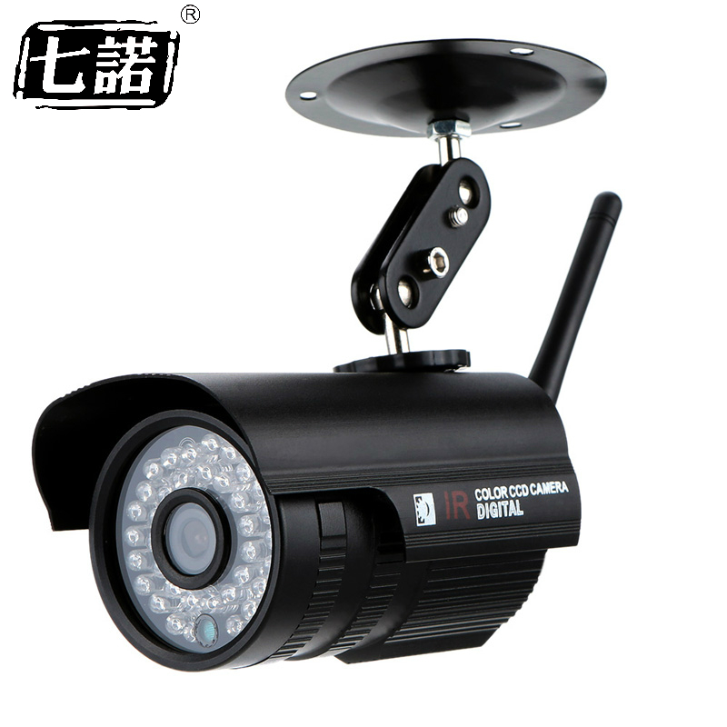 Seven Promise Hd 1080p 2.0MP Metal Bullet Wifi Ip Camera Wireless Surveillance Security 36pcs Infrared Lights Cmos Night Vision promise