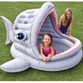 Fashion Shark Shaped Baby Swimming Pool at Home, Big Space Baby Pool, Infant Bath Tub, Thicker,  Pneumatic, Evinormental PVC,