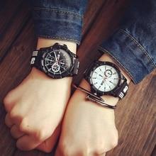 Vintage Men Women Quartz Watches Silicone Band Sports Wrist Watch Three-eye Men's Watch Student Sport Watch Reloj deportivo