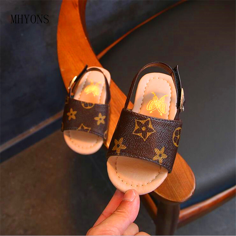 5e7fea57bc397 baby toddler children non-slip Beach shoes sweet Princess shoes Summer 2019 new  boys and