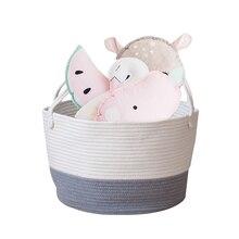 Cotton Storage Baskets Children Toys Laundry Portable Sorting Home Organization Accessories
