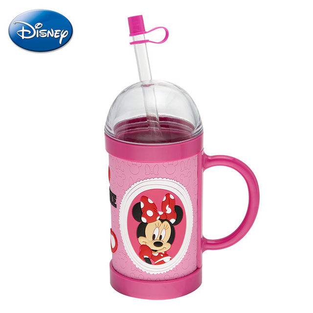 Disney 2018 cartoonauthentic summer PC plastic cup 3D with drinking