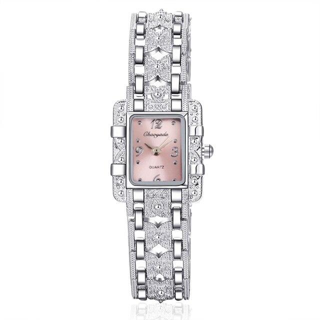 Women's Luxury Stainless Steel Watch 4